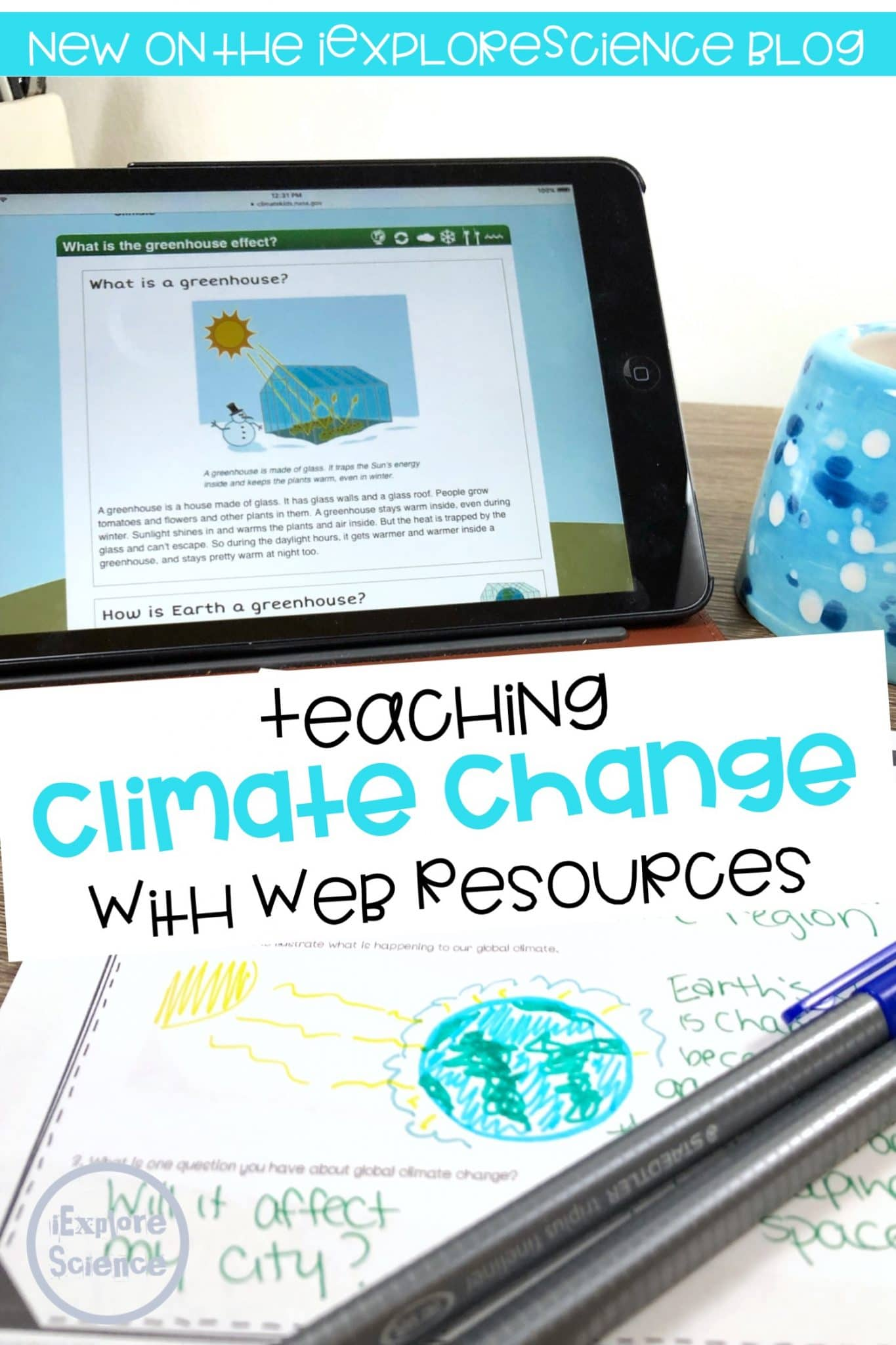 climate change webquest